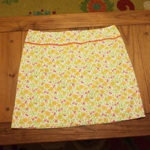 Lilly Pulitzer Skirt Size 10 Oranges & Strawberrie